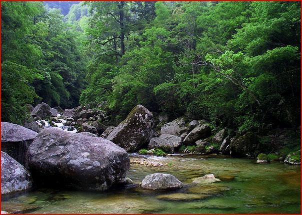 隔的溆浦穿岩山森林公园景区_风景520