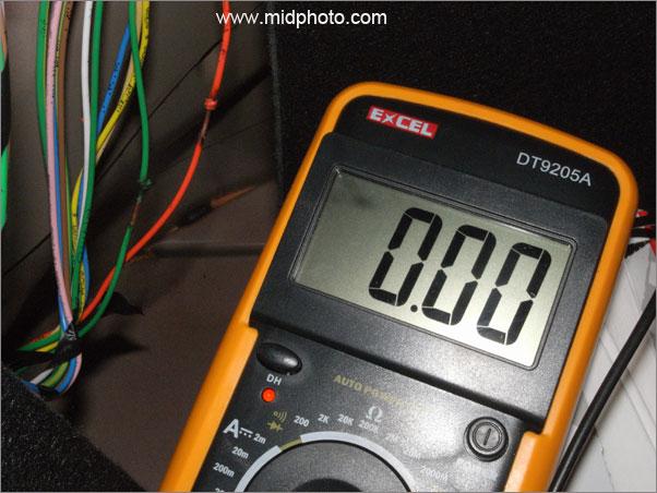 疯狂的雷达 - diy安装标致307无线倒车雷达全纪实
